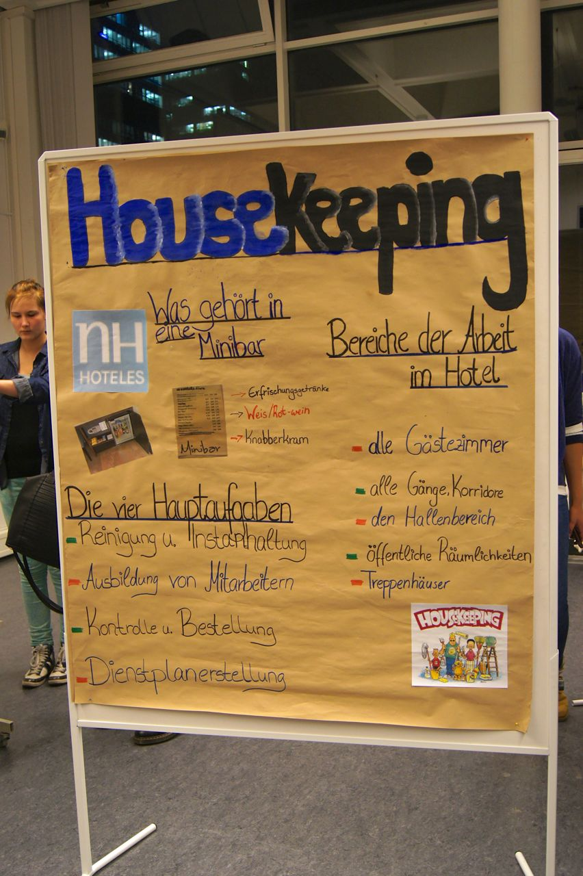 Präsentation Housekeeping