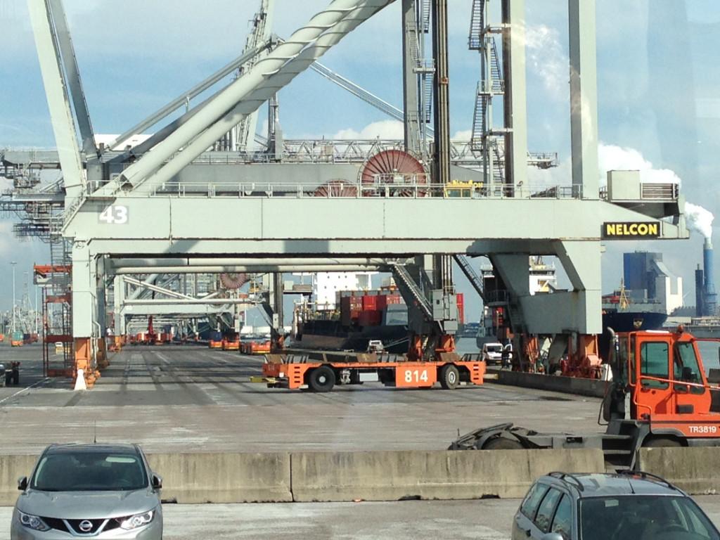 S 1424 auf dem ECT Terminal
