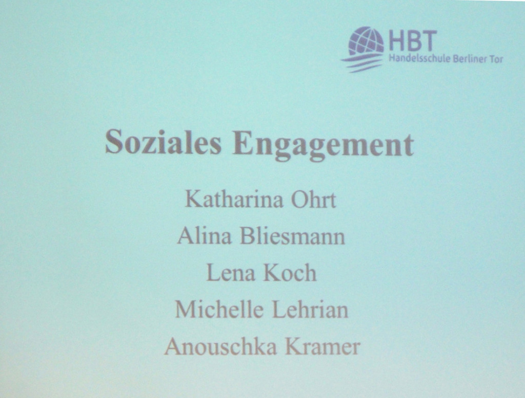 auszeichnung für soziales Engagement