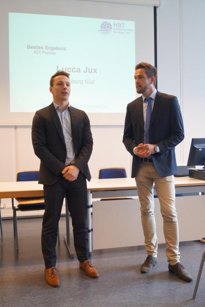 Auszeichnung Jux und Müller